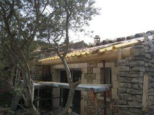 rénovation villa Joucas